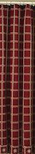 Shower Curtain - Windsor Star in Garnet - Park Designs - Bathroom Burgundy Cream