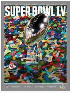 2021 Super Bowl LV 55 Official Program Tampa Florida Stadium Version