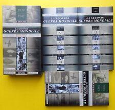ss box la seconda guerra mondiale  world war II dvds ww2 book + 8 dvd cofanetti