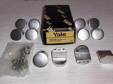 12 Yale Cupboard Knob Handles Aluminium 35mm Diameter - Code 56222-131