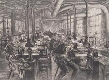 Franz Graf Siemens Halske Berlin Schleiferei Metall-Industrie Schleifstein 1924