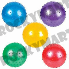 Knobby Ball Inflatable LOT OF 5 Colors Party Favors Autism Sensory Baby RM1710