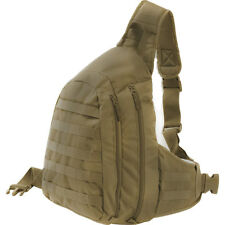 Outdoor Sling Pack w/ Waist Strap, Compact Hike Run Bag Tactical MOLLE Backpack