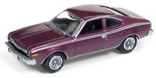 Johnny Lightning 1/64 1974 AMC Hornet Plum Metallic Die-Cast Car JLCG014