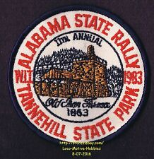 LMH Patch 1983 WINNEBAGO TRAVELERS Club RV Motorhome WIT W.I.T.  Tannehill RALLY