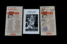 Vtg 2 Hooters Menu Signed from Fort Campbell TN Chattanooga 1 Clarksville Flyer