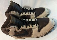 Nike Dunk Untold Truth Hi Top Sneakers Sz 11.5 313462-241 Red Sox Memphis Shoes
