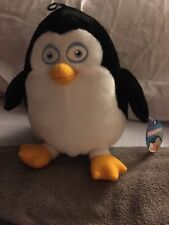 """Toy Factory Dreamworks Penguins Of Madagascar Plush Private Penguin 9"""" Nwt"""
