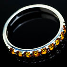 Citrine 925 Sterling Silver Ring Size 11 Ana Co Jewelry R21090