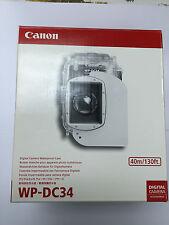 Canon WP-DC34 Waterproof Case underwater 40m for PowerShot G11 G12