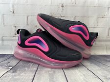 Nike Air Max 720 GS Shoes Black Pink Fuchsia AQ3196-007 Youth Size 6.5Y NEW
