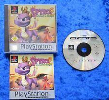 Spyro 2 Gateway to Glimmer Platinum, PS1, PlayStation 1 Spiel