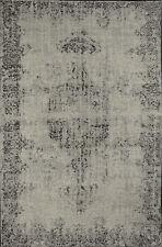 Tappeto salotto moderno grigio cotone acrilico tappeti classici Sitap 56x120 cm
