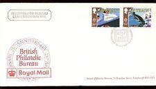 GB FDC 1988 Transport & Communication, Philatelic Bureau H/S #C10197