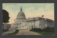 1910s THE CAPITAL WASHINGTON (DC) POSTCARD Card # 4019