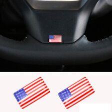 LOGO drapeau USA pour volant ou jantes aluminium