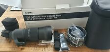 Sigma 150-600mm f/5-6.3 DG OS HSM 'C' with tc1401 1.4x extender Lens for Nikon F
