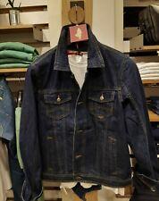 Giubbino jeans uomo blu jacket denim man MCS MARLBORO CLASSICS in OFFERTA