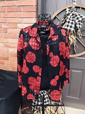 Women's Button Up Blouse With Tee Vintage