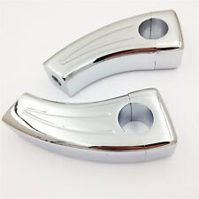 Chrome Handlebar Risers For Honda Shadow VT750 1100 VTX 1300 GL1800 Aero Spirit