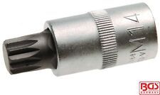 """BGS Tools 1/2"""" Bit Socket Spline M14 x 55mm 4344"""