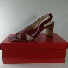 Anne Klein Womens Heels Red Darla Size 8 M