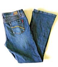 Ecko Red Women's Boot Cut Blue Jeans Size 13 Stretch Medium Wash