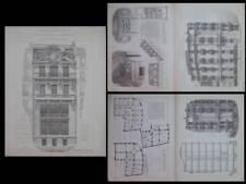 MARSEILLE, HOTEL FRAISSINET - 1910- LEONCE MULLER, NICE, HOTEL SCRIBE, DALMAS