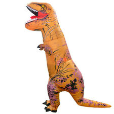 Adult Unisex Funny Outfit Cosplay Dinosaur Inflatable Costume Fancy Dress SuitZB