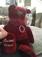 Classic Collectcritters Jackie VIP II Bear 09817/10000 LIMITED EDITION with Cape