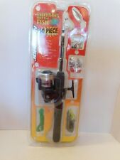 Vintage Rare Johnson Everything But The Fish 60 Piece Rod & Reel Combo