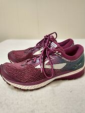 Brooks Women's Shoes Size 9 Purple Lace Up Athletic Comfort Ghost 10 DNA