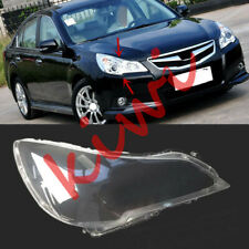 For Subaru Legacy 2010-2014 RIGHT Side Headlight Clear Cover PC With Glue