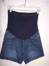 Liz Lange Maternity Women's Denim Shorts sz SP
