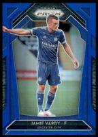 2020-21 Panini Prizm English Premier League Prizms Blue #133 Jamie Vardy /199