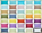 "100% Cotton Throw Pillow Case Blue Yellow Green Gray Lumbar Cushion Cover 12x20"""