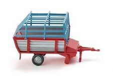 HO 1/87 Wiking # 38101 Hay Loader - Farm Equipment - Grey/Red