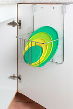 Tür Hängeregal Regal Einhängeregal Spülschrank Küche Bad mit grossem Korb Metall