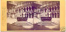 19569/ Stereofoto 9x17,5cm, C. Naya, Piazza S. Marco, Venedig, ca. 1870
