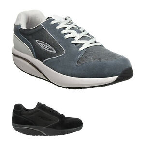 Mbt Womens Trainers MBT 1997 Classic Lace-up Low-top Sneakers Suede Mesh
