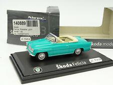 Abrex 1/43 - Skoda Felicia Cabriolet Turquoise