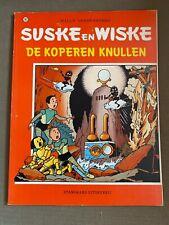 Suske en Wiske #182 - De Koperen Knullen - Eerste druk - Goede staat! - 1981