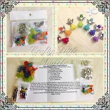 Make Your Own DIY Craft Angel Charms Kit Kit Makes 14 Large Angel Charms
