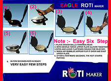 Electric Roti Maker EAGLE Chapati Flat Bread Tortilla Pizza Papad Maker F S AUD