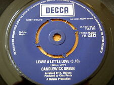 "CANDLEWICK GREEN - LEAVE A LITTLE LOVE  7"" VINYL"