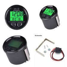 Vert Rétro-éclairage numérique 12 V 24 V MPH KMH GPS Indicateur De Vitesse De Véhicule, voiture, moto