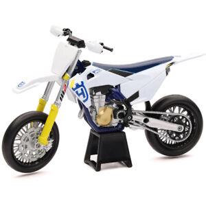 Ray MX Husqvarna FS 450 2019 1:12 Off Road Dirt Bike Toy