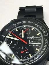 Must See BELL&ROSS by SINN 144Black PVD, VERY RARE!!!!!