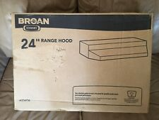 Broan 412404 New Non-Ducted Under-Cabinet Range Hood, 24-Inch, Stainless Steel