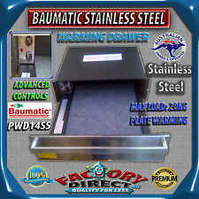 BAUMATIC Stainless Steel Warming Drawer Oven Plate Warmer 60cm PWD12SS NEW!!!